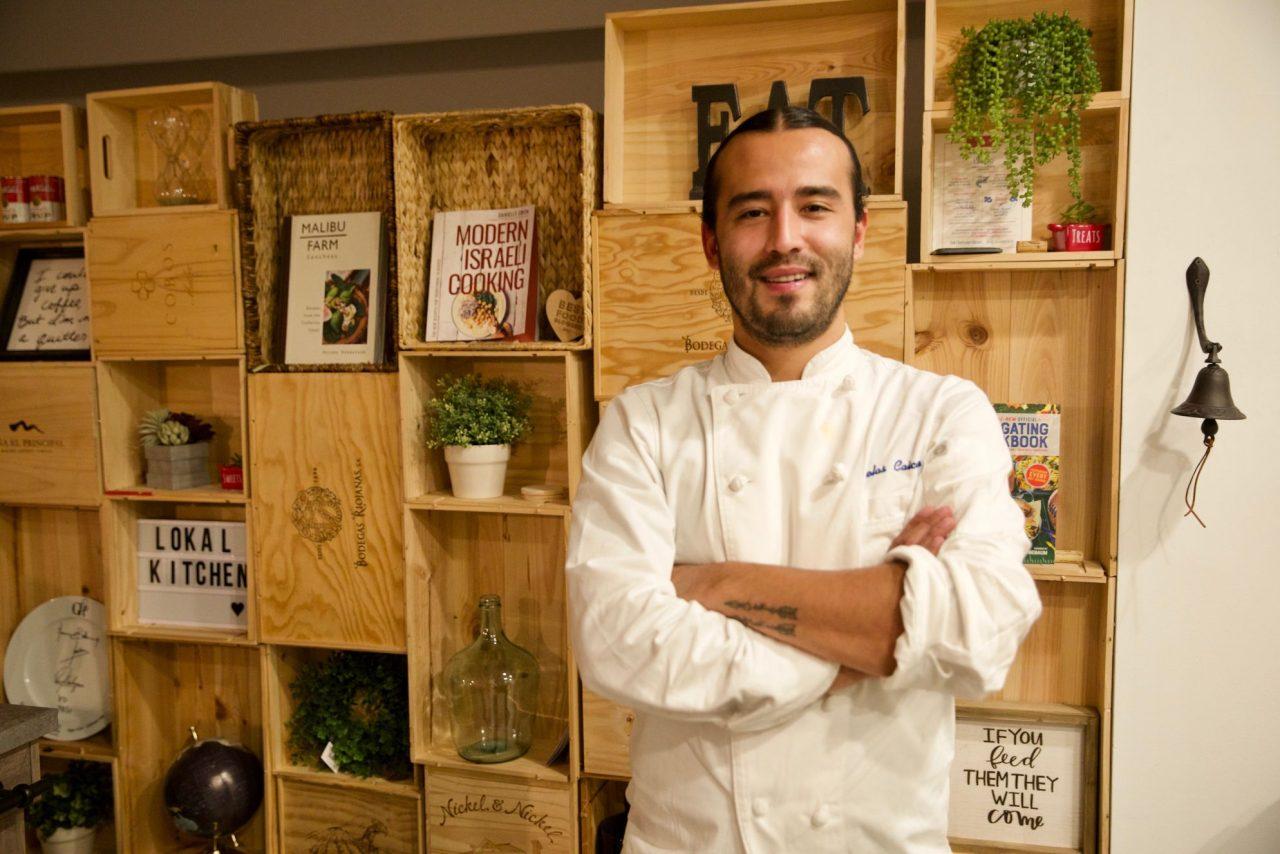 Chef Nicolás Caicedo