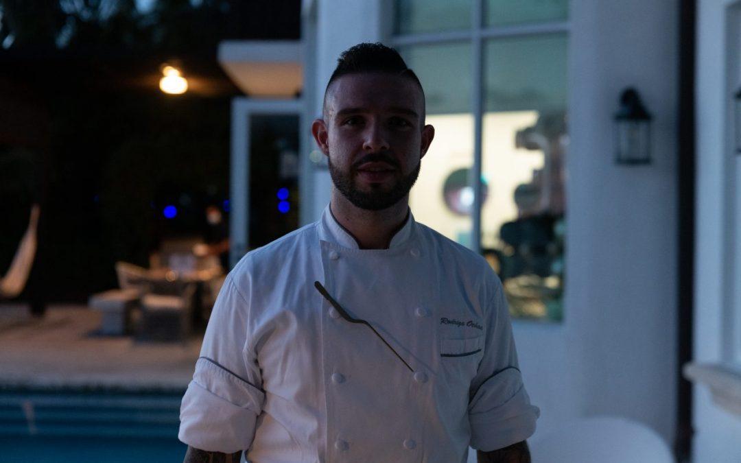 Chef Rodrigo Ochoa